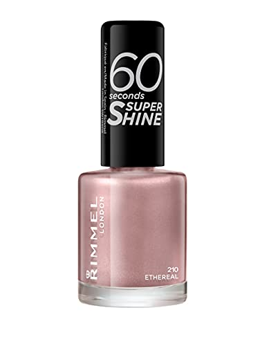 Rimmel 60 Seconds Super Shine Nail Polish - 8 ml, Ethereal Nude from Rimmel