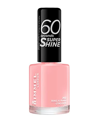 Rimmel 60 Seconds Super Shine Nail Polish - 8 ml, Ring a Ring O Roses from Rimmel