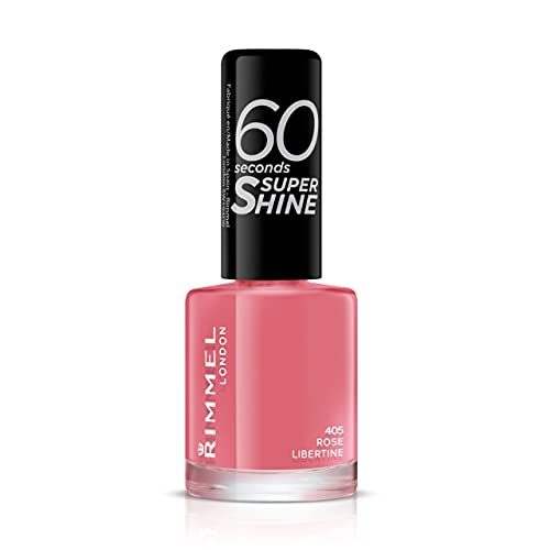 Rimmel 60 Seconds Super Shine Nail Polish - 8 ml, Rose Libertine from Rimmel