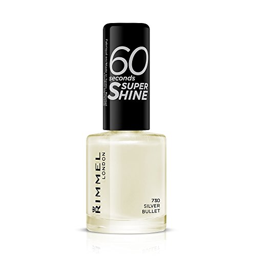 Rimmel 60 Seconds Super Shine Nail Polish - Silver Bullet from Rimmel