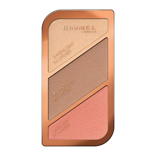 Rimmel London Kate Sculpting Highlighter Palette, Coral Glow, 18.5 g from Rimmel