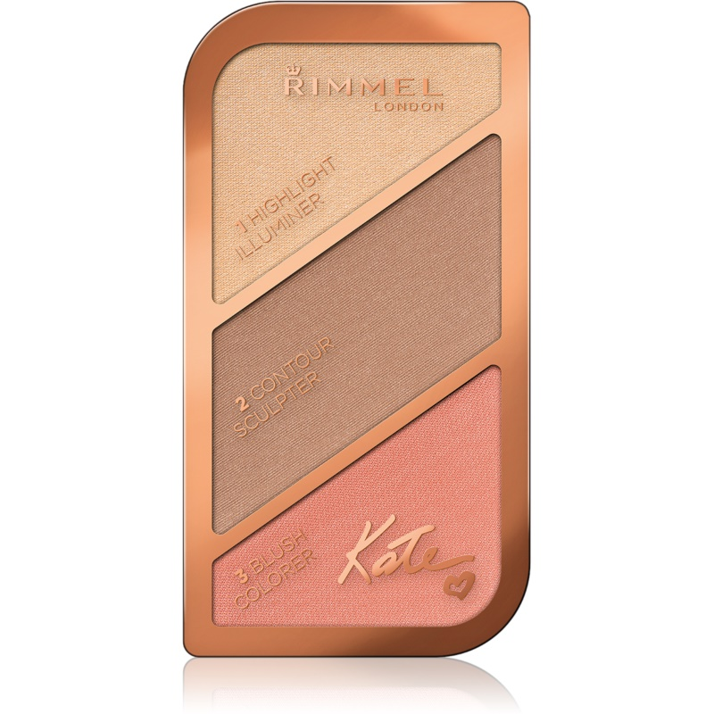 Rimmel Kate Contouring palette Shade 002 Coral Glow 18,5 g from Rimmel