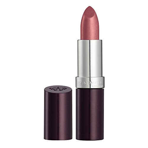 Rimmel London Lasting Finish Lipstick, Moisturising Formula with Luscious Touch and Black Diamond Pigment Complex, 008 Dusty Rose (Pink), 4 g from Rimmel