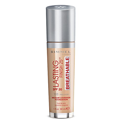 Rimmel London Lasting Finish Breathable Foundation, Spf 20, 103 True Ivory from Rimmel