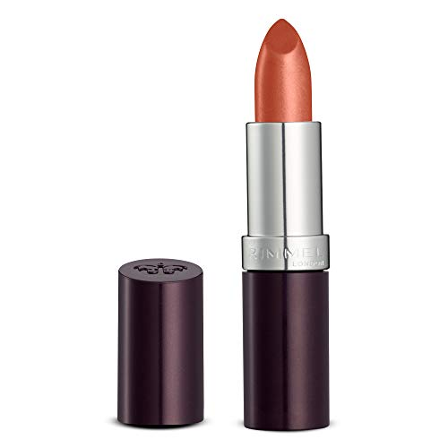Rimmel London Lasting Finish Longlasting Lipstick, 210 Coral in Gold from Rimmel