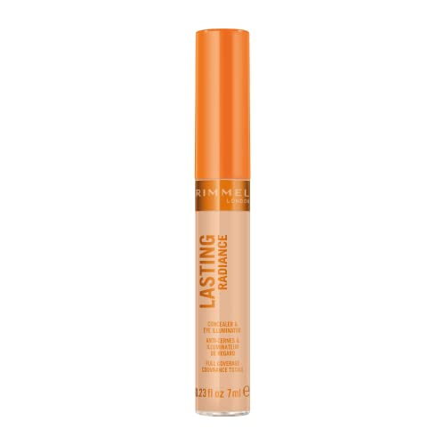 Rimmel Lasting Radiance Full Coverage Concealer and Eye Illuminator, SPF 25, 30 Classic Beige (Rimmel Wake Me Up Concealer Upgrade) from Rimmel