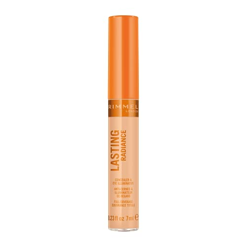 Rimmel Lasting Radiance Full Coverage Concealer and Eye Illuminator, SPF 25, 40 Soft Beige (Rimmel Wake Me Up Concealer Upgrade) from Rimmel