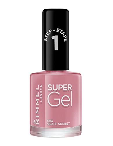 Rimmel London Super Gel Nail Polish, 23 Grape Sorbet, 12ml from Rimmel