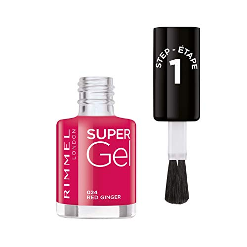 Rimmel London Super Gel Nail Polish by Kate, 24 Red Ginger, 12 ml from Rimmel