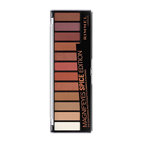 Rimmel Magnif'eyes 12 Pan Eyeshadow Palette, Spice Edition, 14 g from Rimmel