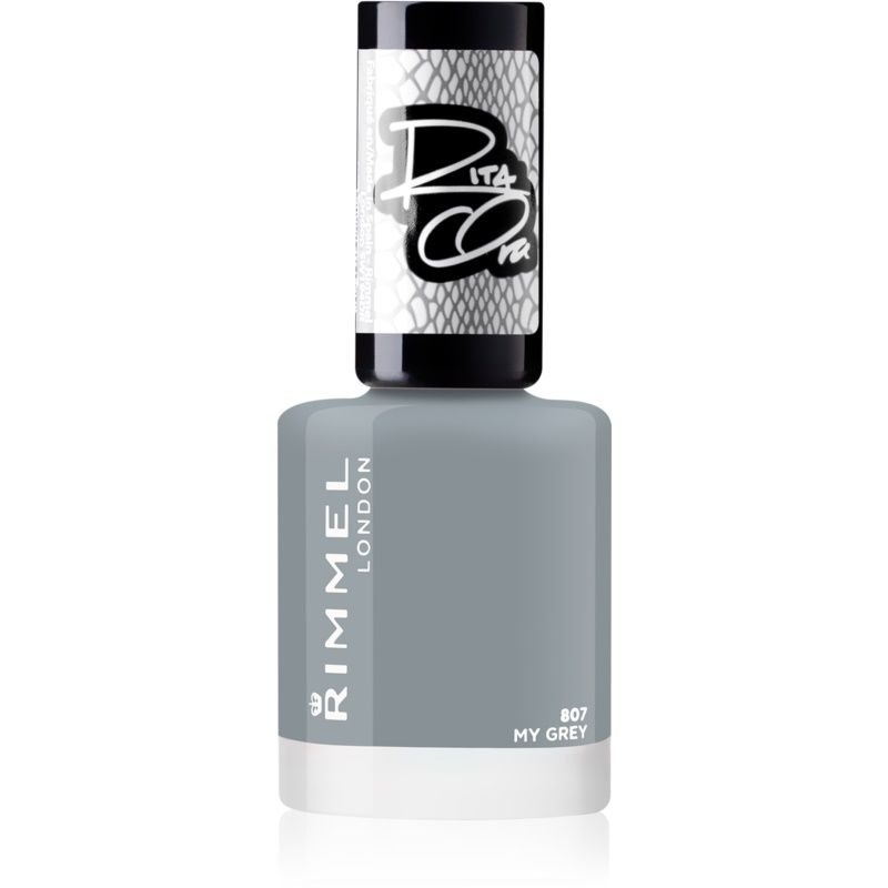 Rimmel Rita Ora Nail Polish Shade 807 My Grey 8 ml from Rimmel