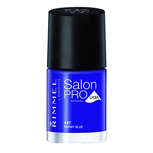 Rimmel Salon Pro Nail Polish Barmy Blue from Rimmel