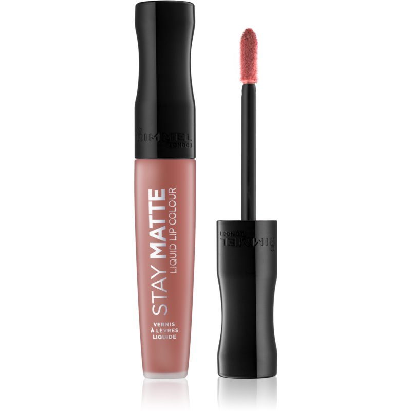 Rimmel Stay Matte Liquid Matte Lipstick Shade 700 Be My Baby 5.5 ml from Rimmel