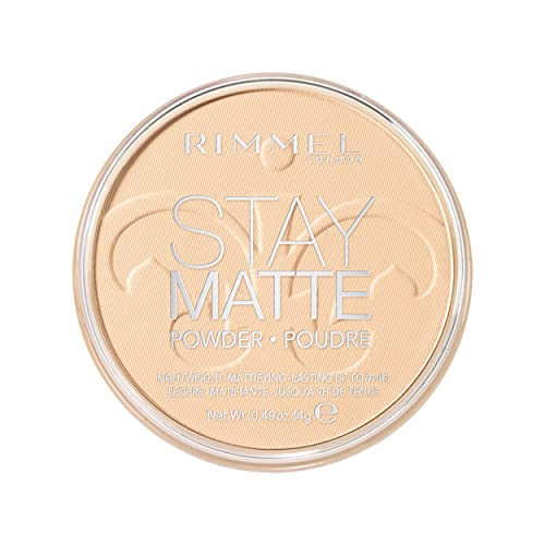 Rimmel London Stay Matte Light Coverage Pressed Powder,1 Transparent, 14g from RIMMEL