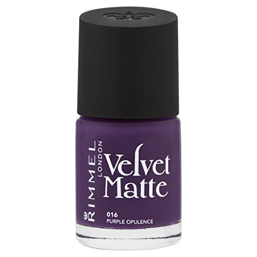 Rimmel Velvet Matte Nail Polish, Purple Opulence from Rimmel