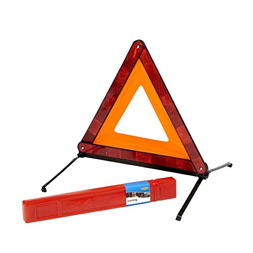 Ring RCT1360 CE Certified Emergency Warning Triangle for Roadside Use – Ideal for Driving in Europe from Ring