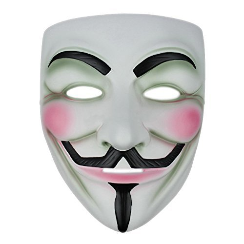 Anonymous / Guy Fawkes - Fancy Dress Mask from Robelli