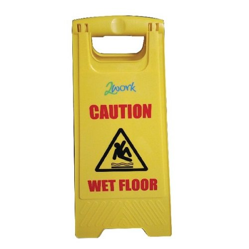 Robert Scott NWSA00 A-Sign, Caution-Wet Floor/Cleaning In Progress from Robert Scott