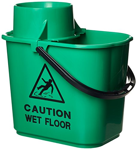 Contico 15 Litre Professional Socket Mop Bucket with High Profile Wringer - Green from Contico