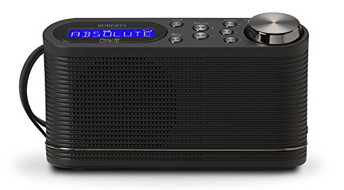 Roberts Radio Play10 DAB/DAB+/FM Digital Radio with Simple Presets - Black from Roberts Radio