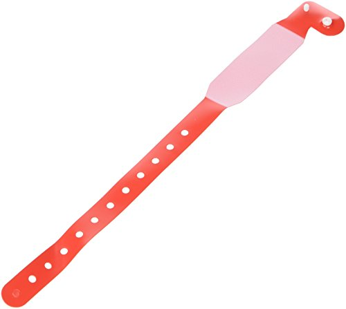 Robinson 6032 Namelets ID Bracelets Adult Write-On Red (Pack of 100) from Robinson