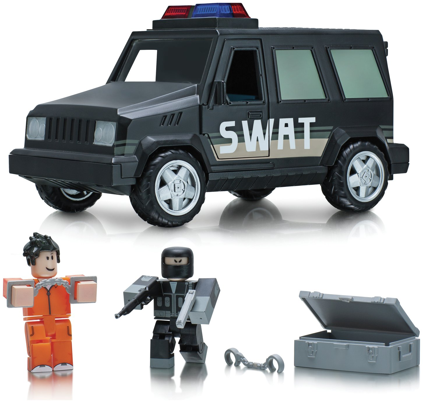 Roblox swat vehicle playset from roblox
