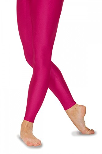 Roch Valley Footless Nylon/Lycra Tights S Raspberry from Roch Valley