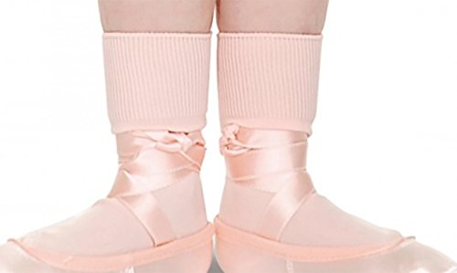 Girls Pink Ballet/Dance Socks By Roch Valley  (child 6-8.5) from Roch Valley