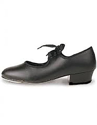 Girls roch Valley tap shoes black sizes child 5 to LARGE 5 (4 uk) from Roch Valley