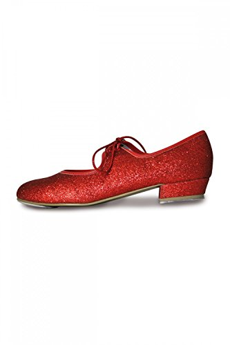 Roch Valley Dorothy Ruby Glitter Tap Shoes Red 13 UK / 32 EU from Roch Valley