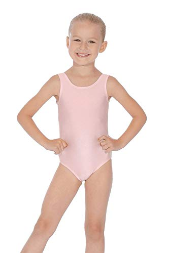 Roch Valley 'Joanne' Nylon/Lycra* Leotard Pale pink Age 5-6 110-116cm (1) from Roch Valley