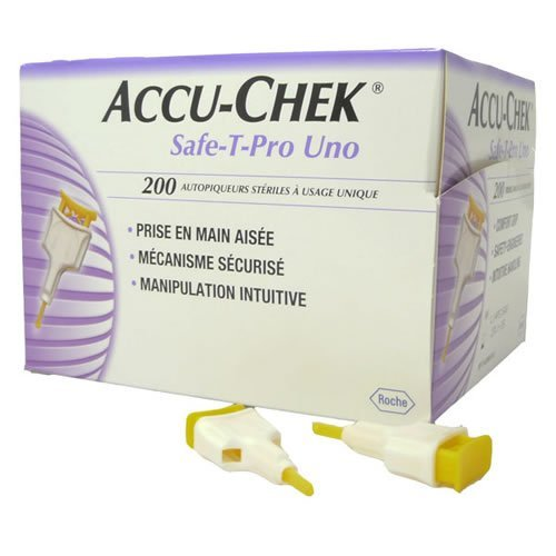 ACCU-CHEK SAFE-T-PRO PLUS (200) LANCING DEVICES - 200 from Roche Diagnostics