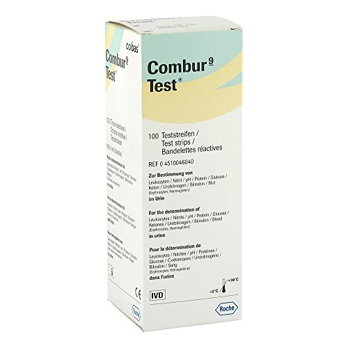 Roche - Combur 9 Test Strips (x100) from Roche Diagnostics