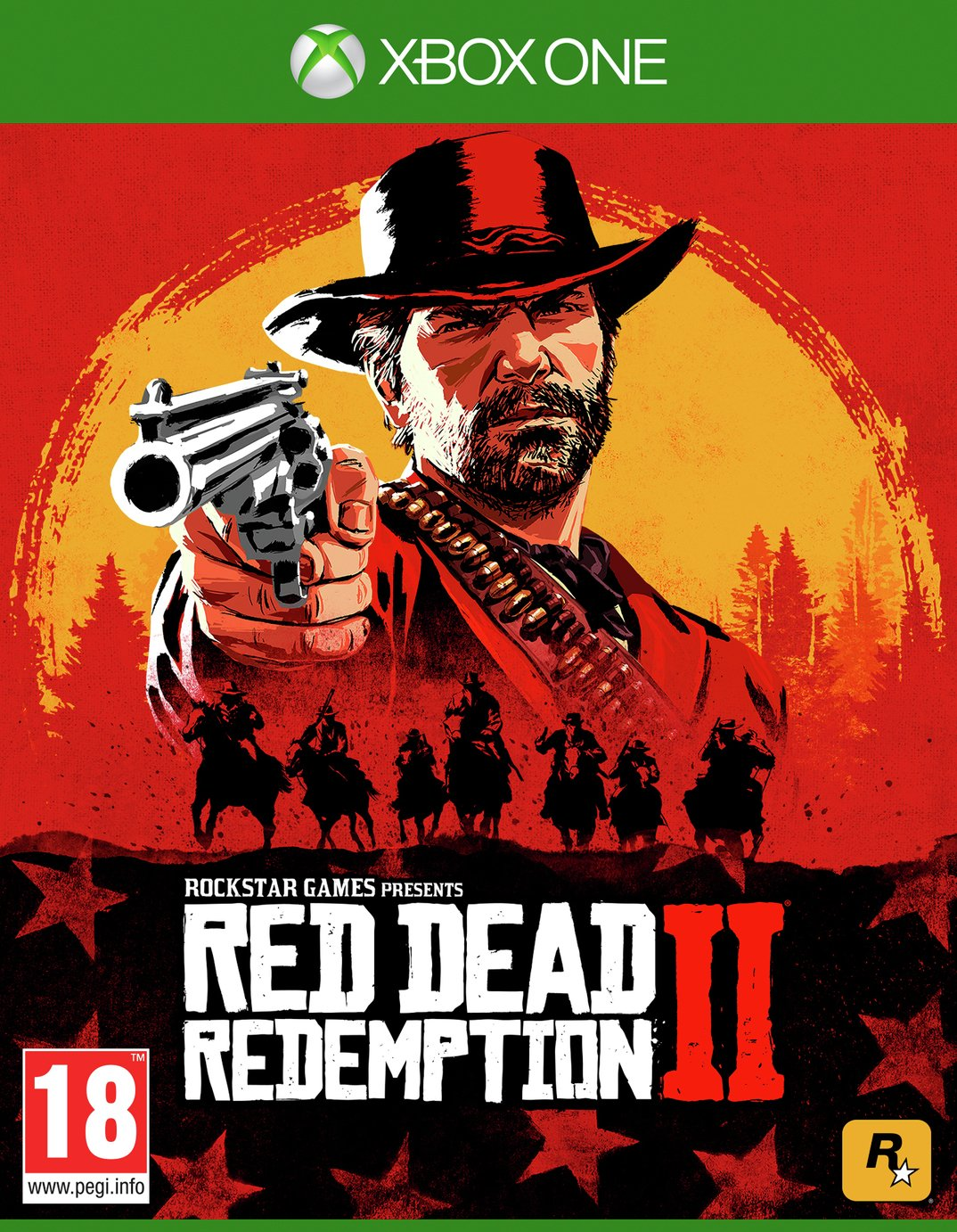 Red Dead Redemption 2 Xbox One Game from Rockstar Games