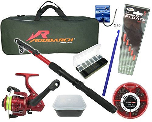 Roddarch copy; Complete Junior or Travel Deluxe Fishing Kit from Roddarch