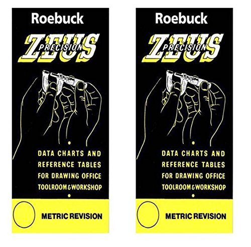 2 x deal - Zeus Precision Data Charts & Reference Tables - Metric Revision, supplied by Link Industry Ltd / Knife-Point from Roebuck