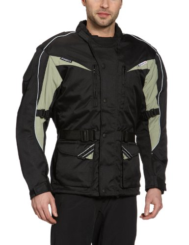Roleff Racewear 10003XXL XXL Cologne Textile Motorcycle Jacket - Black/ Grey from Roleff