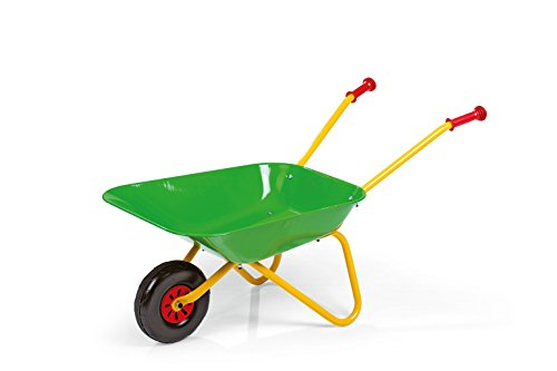 rolly toys 27 190 0 Green Metal Wheelbarrow from rolly toys