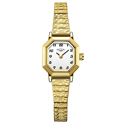 Rotary LB00764/29 Ladies Gold PVD Stainless Steel Expanding Bracelet Watch from Rotary