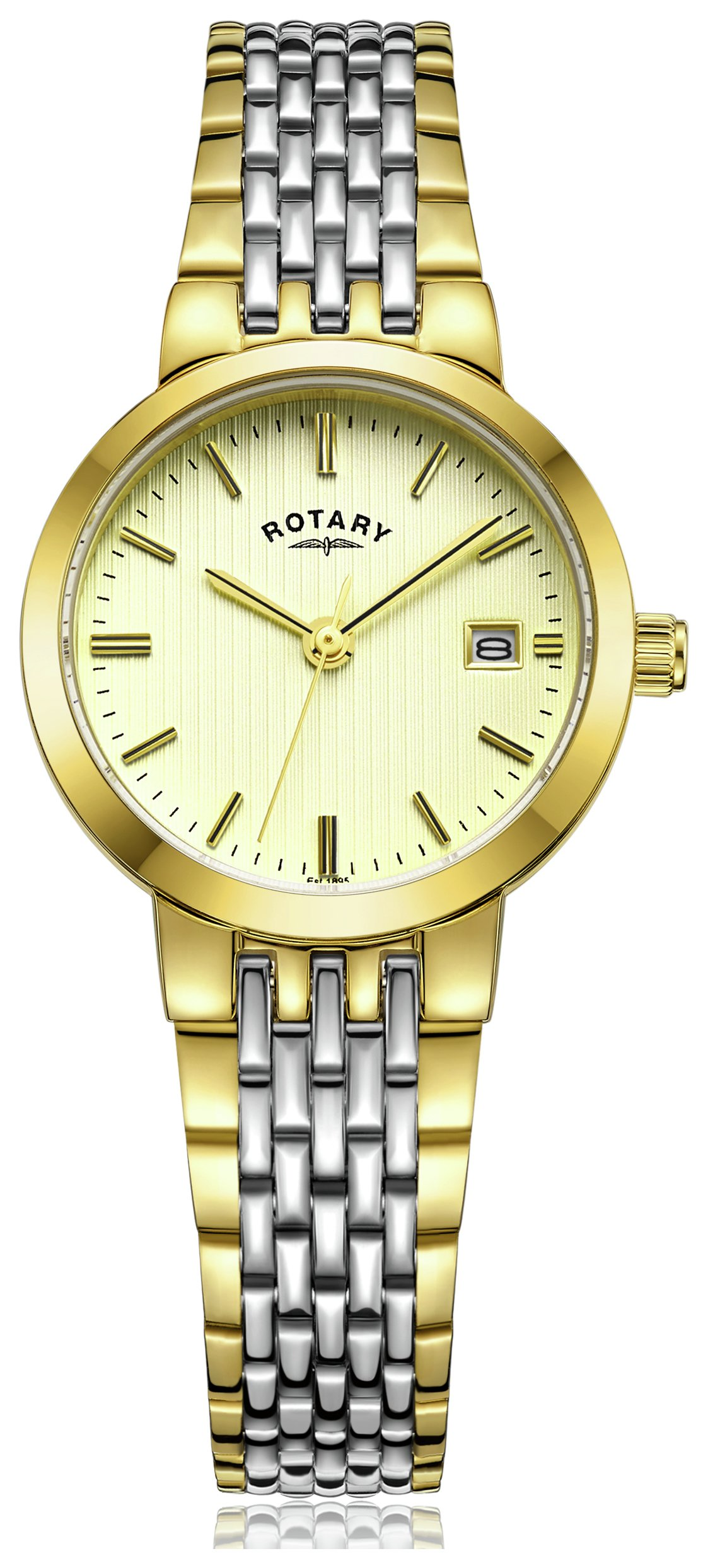 Rotary - Ladies Two-Tone Quartz Bracelet - Watch from Rotary