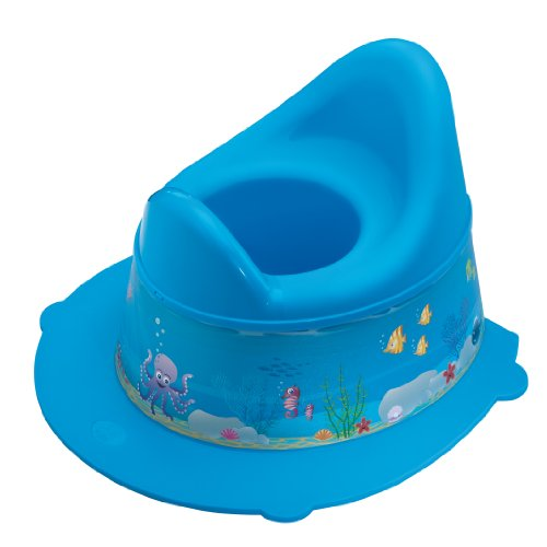 Rotho Babydesign Ocean StyLe! Potty, With Removable Top, From 18 Months, StyLe!, Blue, 20213012576 from Rotho Babydesign