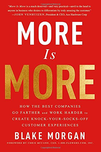 More Is More: How the Best Companies Go Farther and Work Harder to Create Knock-Your-Socks-Off Customer Experiences from Routledge