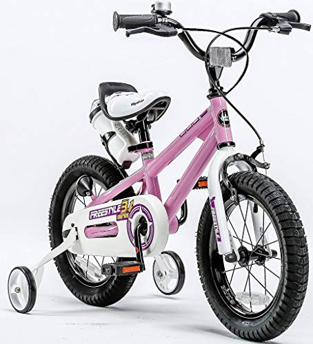 "Royalbaby Freestyle boy's girl's stabilisers Kids Children Child Bike Bicycle, Pink, 12"" from Royal Baby"