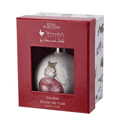 Portmeirion Home & Gifts Bauble, Multi-Coloured from Portmeirion Home & Gifts