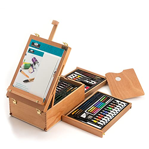 Royal & Langnickel All Media Easel Artist Set (104 Piece) from Royal & Langnickel