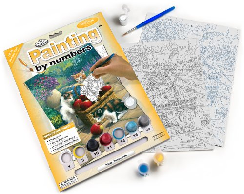 Royal & Langnickel Painting by Numbers A4 Size Bumper Crop Designed Painting Set from Royal & Langnickel