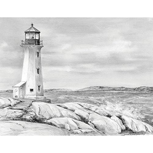 Royal & Langnickel Sketching Made Easy A4 Size Lighthouse Point Designed Painting Set from Royal & Langnickel