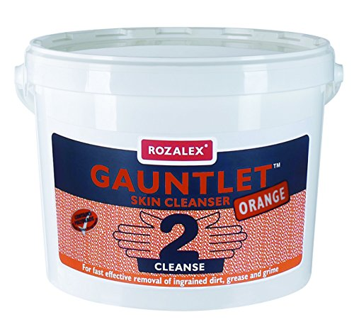 Rozalex Gauntlet Orange Solvent Based Heavy-Duty Hand Cleaner Tub 15 Litre from Rozalex