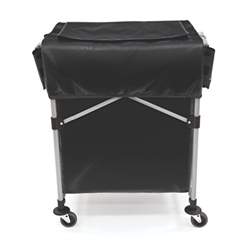 Rubbermaid 1889863 Collapsible X-Cart Cover - 150L Model, Black from Rubbermaid