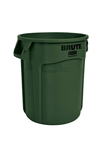 Rubbermaid Commercial Products FG262000DGRN BRUTE Container, 76 Litre, Dark Green from Rubbermaid Commercial Products